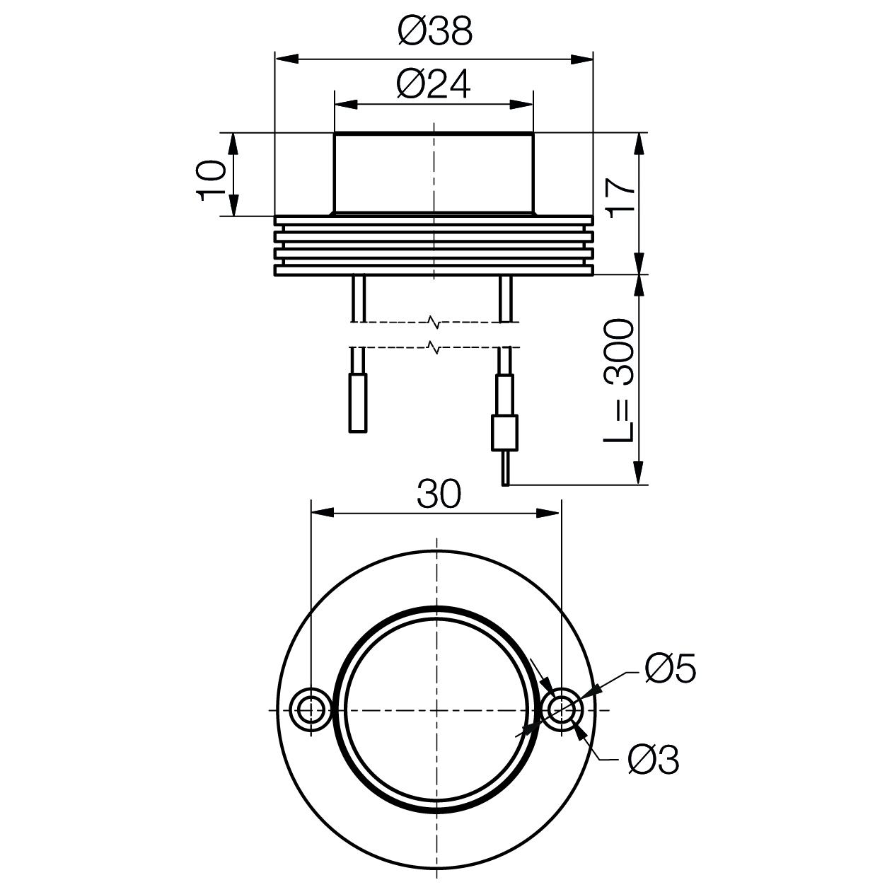 Power LED module MinoStar - plan