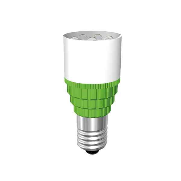 Cluster-Lampe mit 8 LEDs Sockel E10