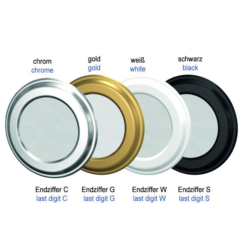 LED-Spot SiLuX® Plus mit farblos mattierter Leuchtfläche Einbau-Ø 52 - 58 mm