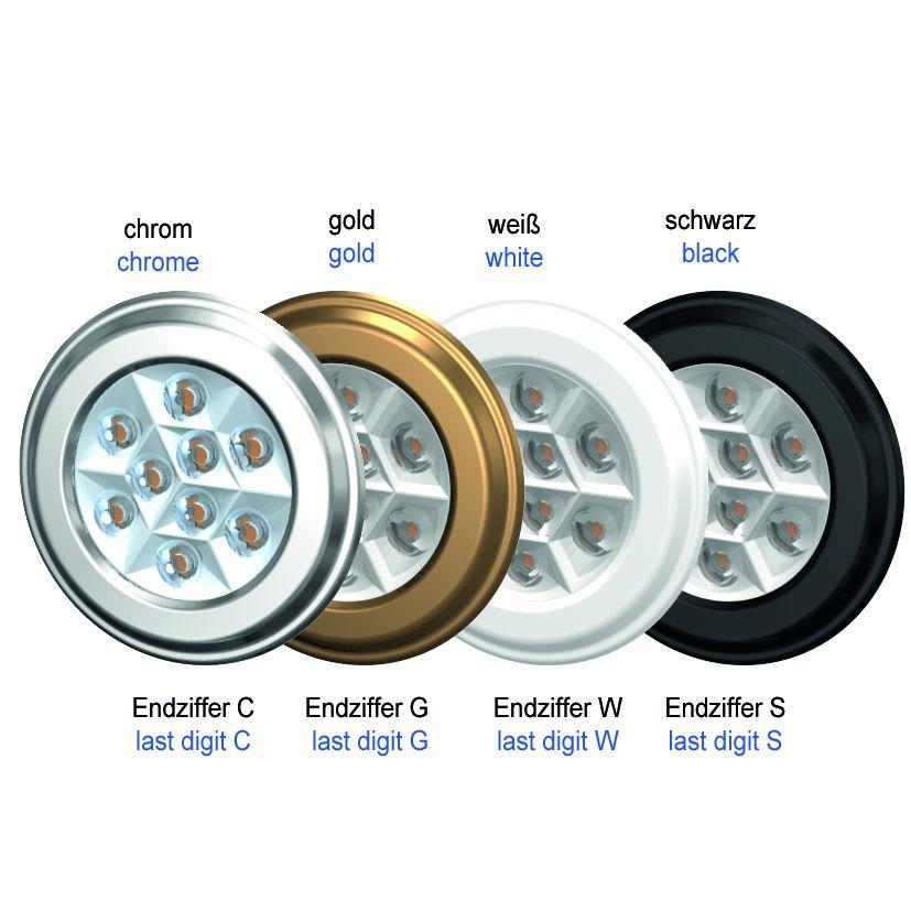 LED-Spot SiLuX® Plus mit Linsenoptik Einbau-Ø 52 - 58 mm