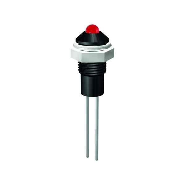 LED-Signalleuchte Ø6mm Außenreflektor