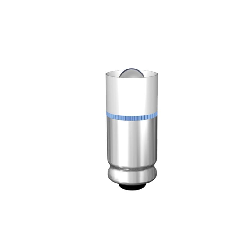 Single-LED-Lampe Ø5,6 mm Sockel MG5,7 Einweggleichrichtung