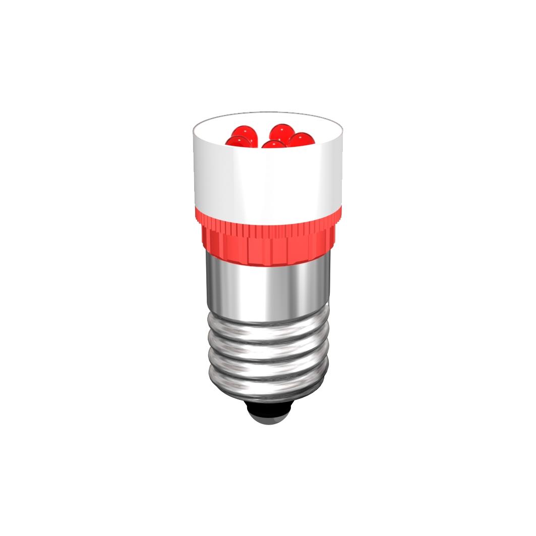 Cluster-Lampe Sockel E14 5 x 3mm-LED