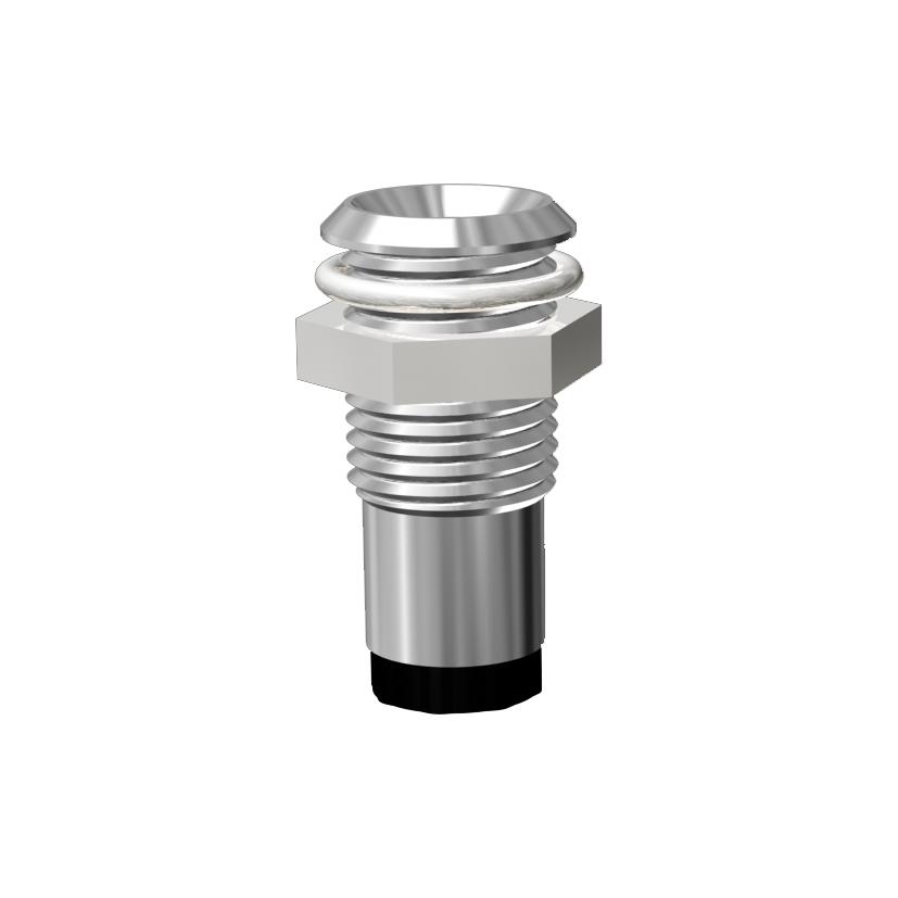 LED-Fassung für Ø5mm LEDs Innenreflektor, für Plankopf-LED