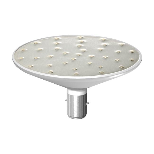 LED-Lampe Ø124mm