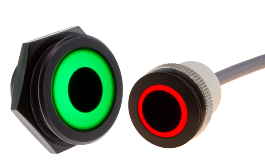 RGB ring lights Ø 30 mm and 22 mm from Signal-Construct